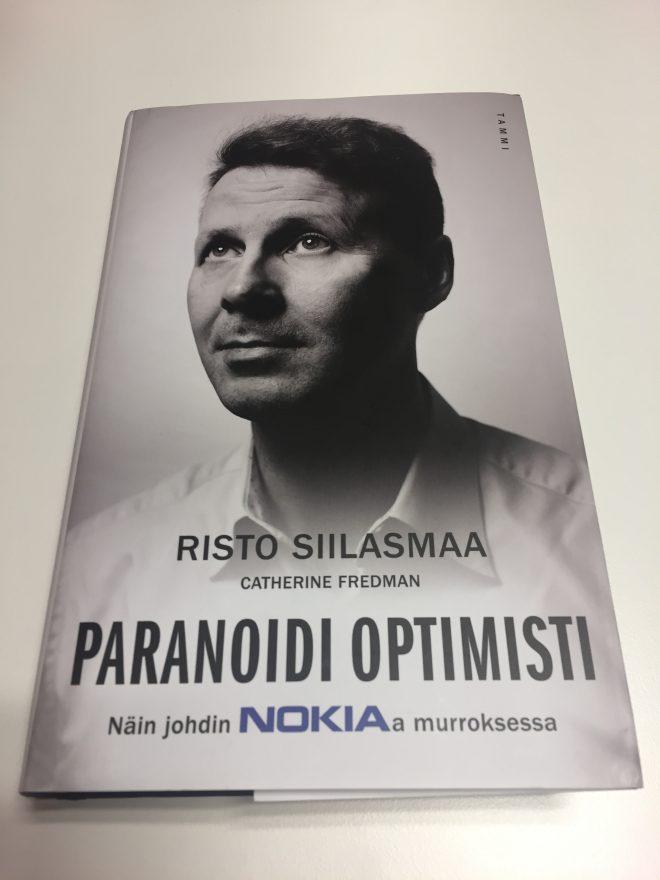 Paranoidi optimisti - Risto Siilasmaa